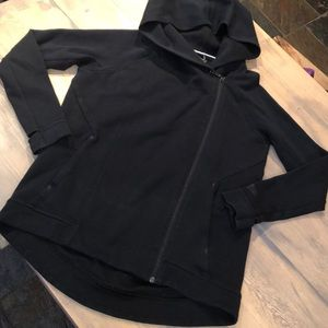 Nike side zip up hooded sweatshirt